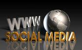 Médias sociaux — Photo