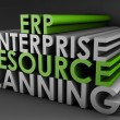 Enterprise Resource Planning ERP - Stock Photo