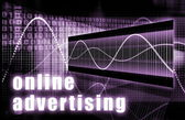 Online Advertising — Stock Photo