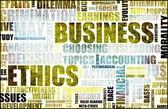 ética en los negocios — Foto de Stock
