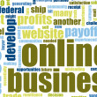 business online — Foto Stock