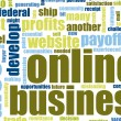 Foto Stock: Online Business
