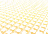 Simple and Clean Block 3d Abstract Background — Stock Photo