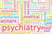 Psychiatry Focus on Mental Illness As Concept — Stock Photo