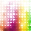 Colorful Party Disco Trendy Abstract Background — ストック写真