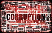 Corruption — Stock Photo