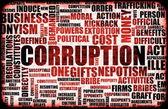 Corruption — Stock Photo