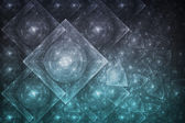 Crystal Formation Abstract — Stock Photo