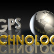 GPS Technology — Stock Photo