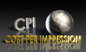 Cost Per Impression — Stock Photo