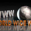 World Wide Web — 图库照片 #23901085