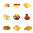 Pastries and Cakes - Stock Photo