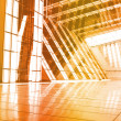 Orange Abstract Building Wallpaper — Stock Photo