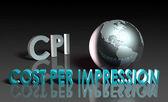Cost Per Impression — Stock Photo