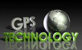 GPS Technology — Stock Photo