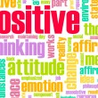 Thinking Positive - Stockfoto