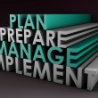 Stock Photo: Management Planning