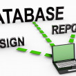 Stock Photo: Database System