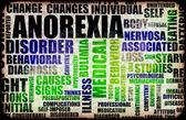 Anorexia — Stock Photo