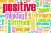 Pensare positivo — Foto Stock