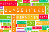 Classified Ads — Stock Photo