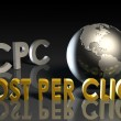Cost Per Click - Stock Photo