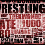 Постер, плакат: Wrestling