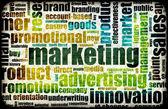 Marketing Background — Stock Photo