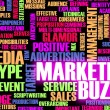 Marketing Buzz — Foto Stock