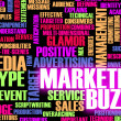 Marketing Buzz - Foto de Stock