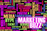 Marketing Buzz — Stock Photo