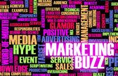 Marketing Buzz — Stock Photo