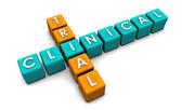 Badania klinicznego — Zdjęcie stockowe