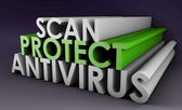 Antivirus — Stock Photo