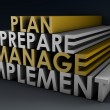 Management Planning — Stock Photo
