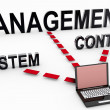 Content Management System — Stock Photo #24174857