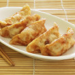 Fried Dumplings — 图库照片