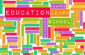 School-en onderwijspersoneel — Stockfoto