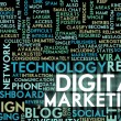Stock Photo: Digital Marketing