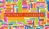 Strategic Management — Stock Photo