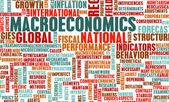 Macroeconomics — Stock Photo