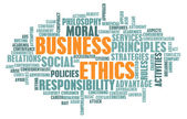 Business Ethics — Stock fotografie