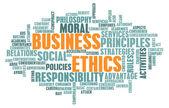 商业道德 — 图库照片