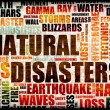 Natural Disasters — Stock Photo