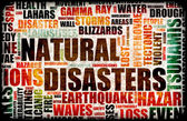 Natural Disasters — Stock Photo