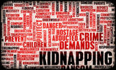Kidnapping — Stock Photo