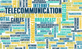 Telecommunications — Stock Photo