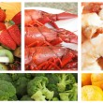 jídlo cateringu — Stock fotografie