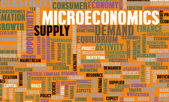 Microeconomics — Stock Photo