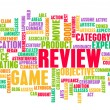Stock Photo: Game Review